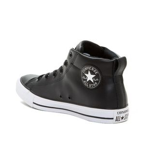 Converse Chuck Taylor  Fashion Leather Shoes Sz 10